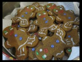 Gingy Gingerbread Men by Leara