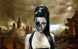 Wallpaper Amy Lee by AnnieSerrano