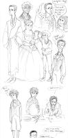 Chrestomanci Sketches by Sun-kiss