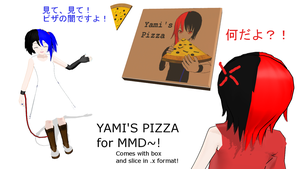 Yami's Pizza [+DL][Happy B-Day baby brother!] by kokorohane