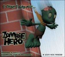 Zombie Hero - I can fly... by nickowolf