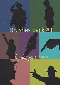 Michael Jackson's Smooth Criminal Brushes by DOGGONE-LOVER