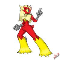 Its Blaziken by NkoGnZ