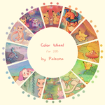 Color Wheel by Paleona