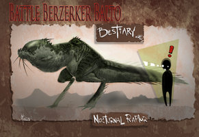 BBBB 48 Noturnal Raptor by joverine
