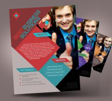 Business Flyer Corporate Flyer by satgur