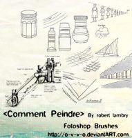 Comment Peindre Brush Set 1 by O-V-V-O
