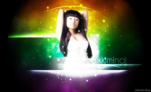 Nikki Minaj Bright Light by jamesy165