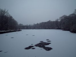 snowy water 3 by harrietbaxter