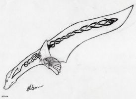 Dragon Knife by Feanor-the-Dragon