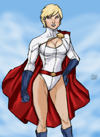Power Girl by spriteman1000