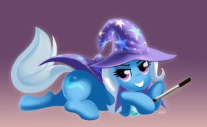 All powerful Trixie by Mewpan