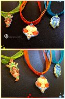 Pokemon X Y Starters charms