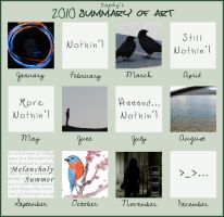 2010 Summary of Art by Saphiroko