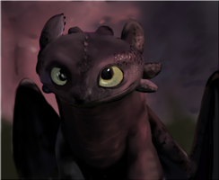 Toothless by TheDraconicBard
