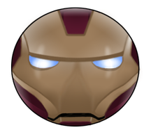 Iron Man Pin by BrittanysDesigns