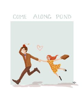 Come Along Pond by Hellomynameisbasil