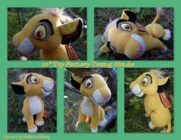 10 Inch Toy Factory Young Simba by DoloAndElectrik
