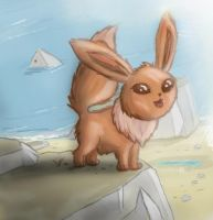 Little Eevee by Jo-Onis