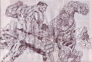 THING VS COLOSSUS by Capocyan-Arvin