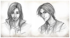 Hatim and Edward by CristianaLeone