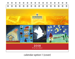Emerson 08 calendar- cover by ellabanana