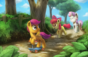 The Trail That They Blaze by AnticularPony