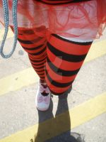 red and black and kawaii shoes by MiyuDoLLy