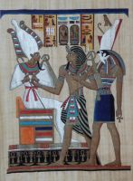 Egyptian papyrus - Two by Altair-E-Stock