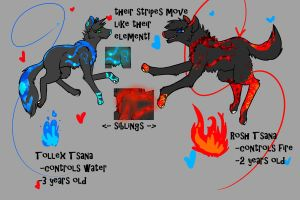 Rosh and Tollex joint reference by smileyfluff