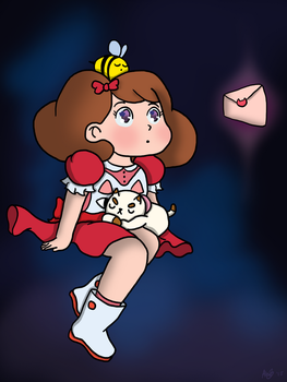 Bee and Puppycat (Redraw) by KikenCat
