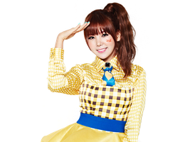 Raina png - Orange Caramel by Sellscarol