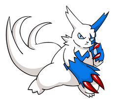 Shiny Zangoose by TheIronForce