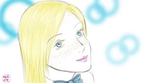 Victoire Weasley by mayflo