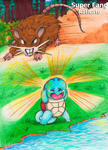 Raticate Used Super Fang! by Ayukaba