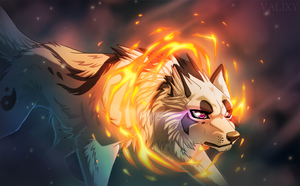 Art Trade: Ring of Fire by Valixy