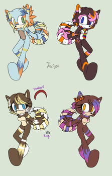 Meme Song Lemurhusky Adopts :CLOSED: by Paige-the-unicorn
