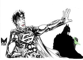 Superman and Batman - Don't Worry I am here... by mdkex