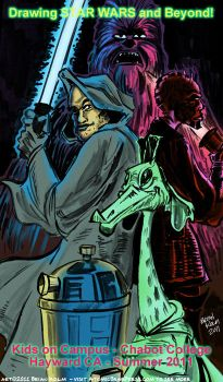 Chabot Cartooning:Star Wars by Atomic-Bear