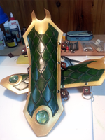 Loki Bracers by lady-skye