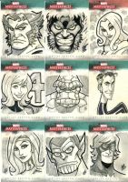 Marvel Masterpieces 3 by BigChrisGallery