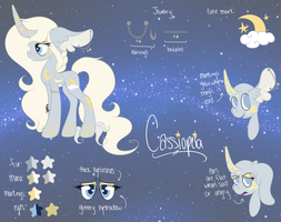 Cassiopeia Reference Sheet by Toxijen
