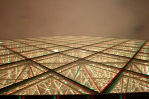 Louvre Pyramid 3-D conversion by MVRamsey