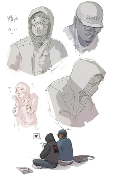 Marcus x Wrench | Watch Dogs 2 by MByak