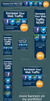 Social Media Network Banner Ad Template by admiraladictus