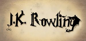 J.K. Rowling Typography by AshTwin
