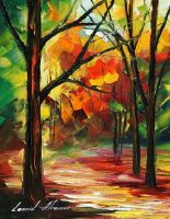 NOON IN THE FOREST - AFREMOV by Leonidafremov