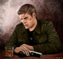 This is the End, Dean Winchester by Eiande