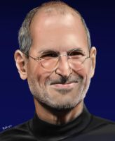 Steve Jobs by MosiKashi