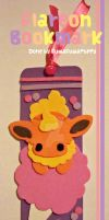 Flareon Cotton Candy Bookmark by FuwaFuwaPuppy